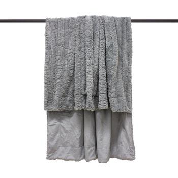 Maison & Déco Couvertures Furn Taille unique Gris