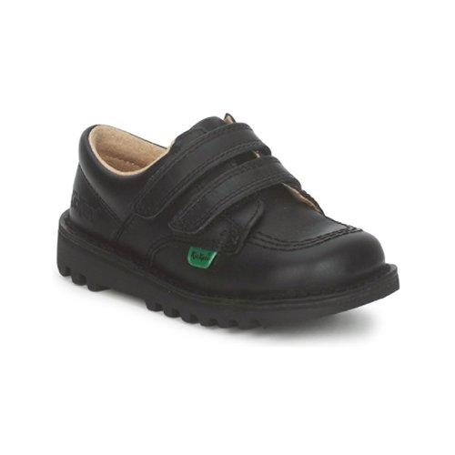 Chaussures Enfant Baskets basses Kickers KICK LO VELCRO Noir