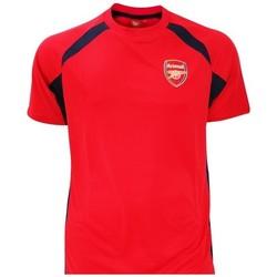 Vêtements Garçon T-shirts manches courtes Arsenal Fc  Rouge / noir