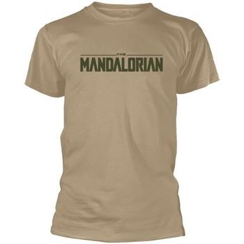 Vêtements T-shirts manches courtes Star Wars: The Mandalorian  Beige