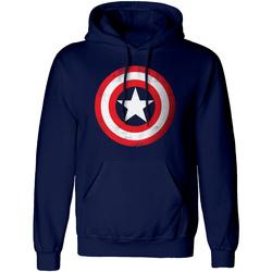 Vêtements Sweats Captain America  Bleu marine / rouge / blanc