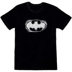 Vêtements T-shirts & Polos Dessins Animés  Noir / blanc