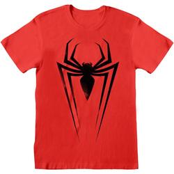 Vêtements T-shirts & Polos Marvel  Rouge / noir