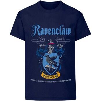 Vêtements T-shirts & Polos Harry Potter  Bleu marine