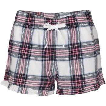 Vêtements Femme Pyjamas / Chemises de nuit Sf SK82 Blanc / rose
