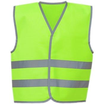 Vêtements Enfant Gilets / Cardigans Yoko YK106B Vert citron