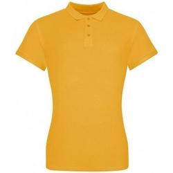 Vêtements Femme T-shirts & Polos Awdis JP100F Jaune moutarde