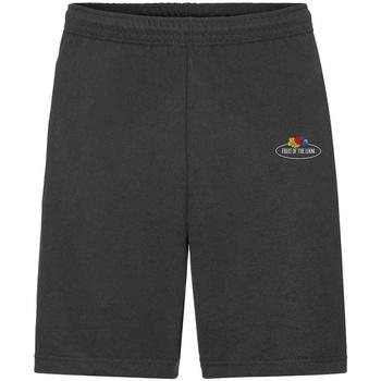 Vêtements Homme Shorts / Bermudas Fruit Of The Loom SS07R Noir