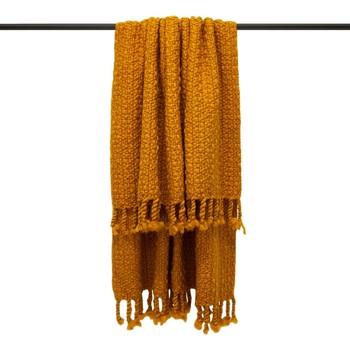 Maison & Déco Couvertures Furn Taille unique Moutarde