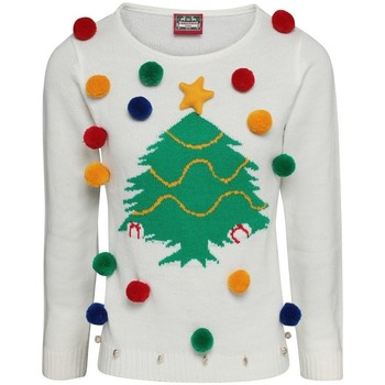 Vêtements Femme Sweats Christmas Shop CJ102 Blanc