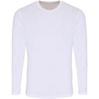 Vêtements Homme T-shirts manches longues Tridri TR050 Blanc