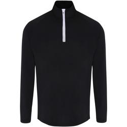 Vêtements Homme T-shirts manches longues Tridri TR110 Noir / blanc