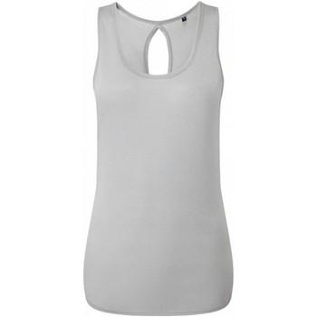 Vêtements Femme Débardeurs / T-shirts sans manche Tridri TR044 Gris