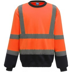 Vêtements Homme Sweats Yoko  Orange / bleu marine