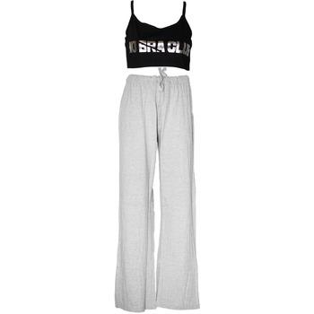 Vêtements Femme Pyjamas / Chemises de nuit Forever Dreaming  Gris / noir