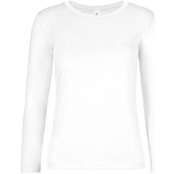 Vêtements Femme T-shirts manches longues B And C TW08T Blanc
