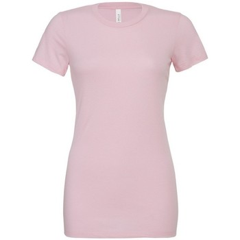 Vêtements Femme T-shirts & Polos Bella + Canvas BE6400 Rose