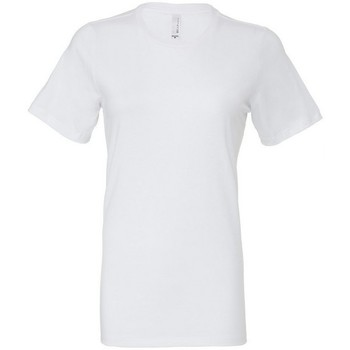 Vêtements Femme T-shirts & Polos Bella + Canvas BE6400 Blanc