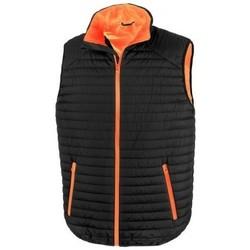Vêtements Gilets / Cardigans Result R239X Noir / orange