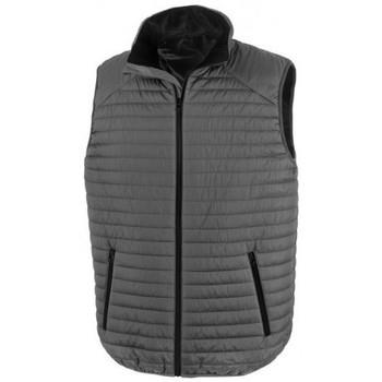 Vêtements Vestes Result R239X Gris / noir