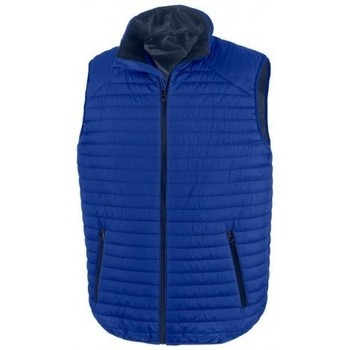 Vêtements Vestes Result R239X Bleu roi / bleu marine