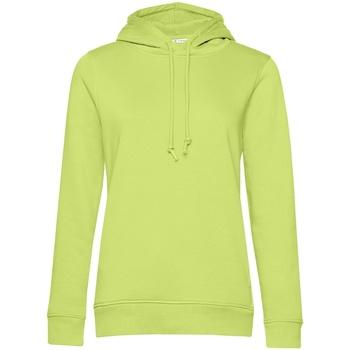 Vêtements Femme Sweats B&c WW34B Vert citron