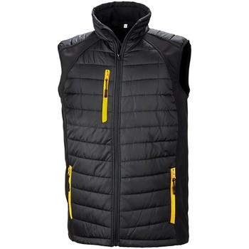 Vêtements Vestes Result R238X Noir / jaune