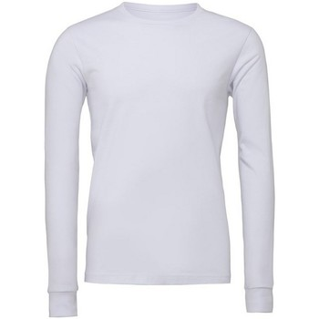 Vêtements T-shirts manches longues Bella + Canvas CA3501 Blanc