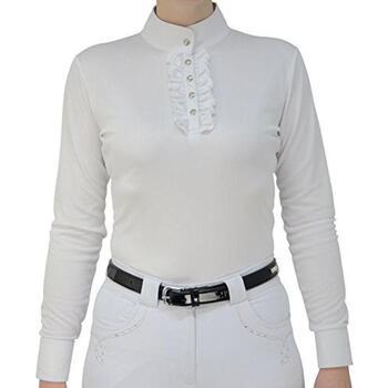 Vêtements Femme Tops / Blouses Hyfashion  Blanc