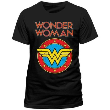 Vêtements T-shirts & Polos Wonder Woman  Noir