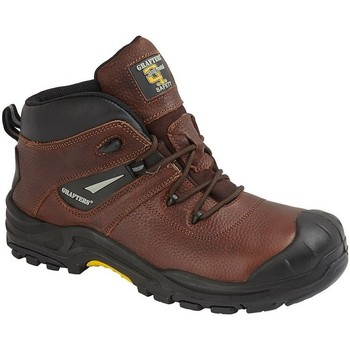 Chaussures Homme Bottes Grafters  Marron