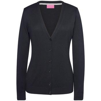 Vêtements Femme Gilets / Cardigans Brook Taverner BK554 Noir