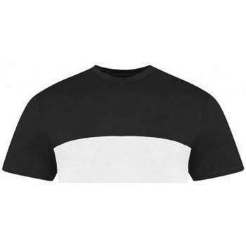 Vêtements T-shirts manches courtes Awdis JT110 Blanc / noir