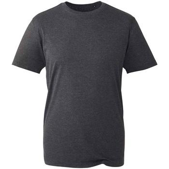 Vêtements T-shirts manches courtes Anthem AM10 Gris foncé