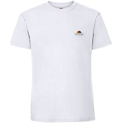 Vêtements Homme T-shirts manches courtes Fruit Of The Loom SS02R Blanc