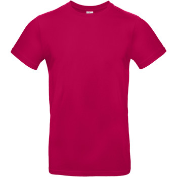 Vêtements Homme T-shirts manches courtes B And C BA220 Fuchsia