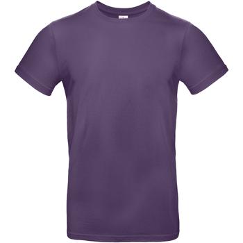 Vêtements Homme T-shirts manches courtes B And C BA220 Violet