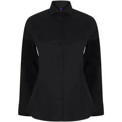 Vêtements Femme Chemises / Chemisiers Henbury HB533 Noir