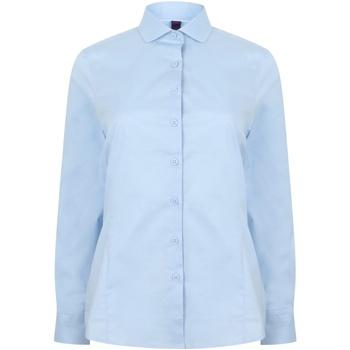 Vêtements Femme Chemises / Chemisiers Henbury HB533 Bleu clair