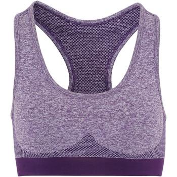 Vêtements Femme Brassières de sport Tridri TR210 Violet