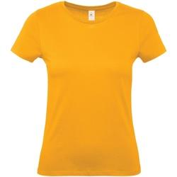 Vêtements Femme T-shirts manches courtes B And C B210F Abricot