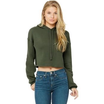 Vêtements Femme Sweats Bella + Canvas BE7502 Vert militaire