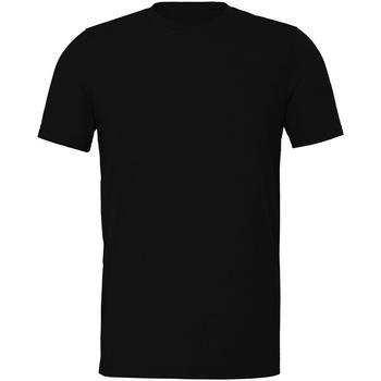 Vêtements T-shirts manches courtes Bella + Canvas CV011 Noir chiné
