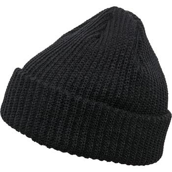 Accessoires textile Bonnets Flexfit By Yupoong YP066 Noir