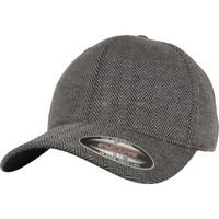 Accessoires textile Casquettes Flexfit By Yupoong YP108 Noir / gris