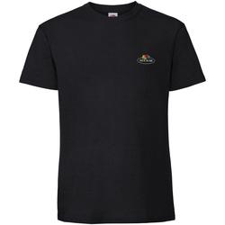 Vêtements T-shirts manches courtes Fruit Of The Loom SS02R Noir