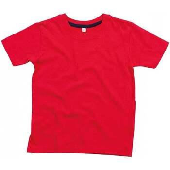 Vêtements Enfant T-shirts manches courtes Babybugz BZ090 Rouge / Bleu marine