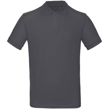 Vêtements Homme Polos manches courtes B And C PM430 Gris foncé