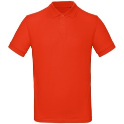 Vêtements Homme Polos manches courtes B And C PM430 Rouge