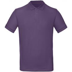 Vêtements Homme Polos manches courtes B And C PM430 Violet